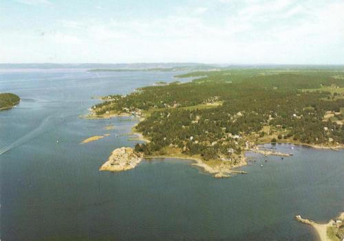 Flyfoto Larkollen fra syd
