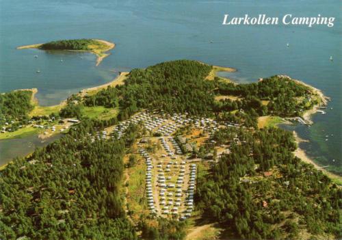 Flyfoto Larkollen Camping